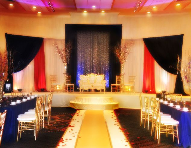 Modern Wedding Stage Decorations