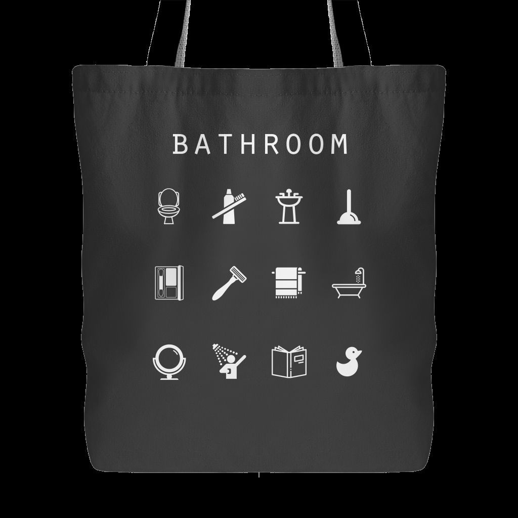 Bathroom Tote Bag - Beacon