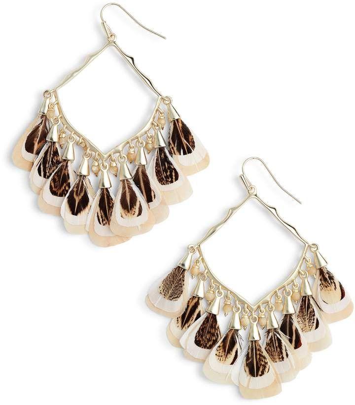 88162ae4d Kendra Scott Raven Earrings | Products | Earrings, Boho earrings ...