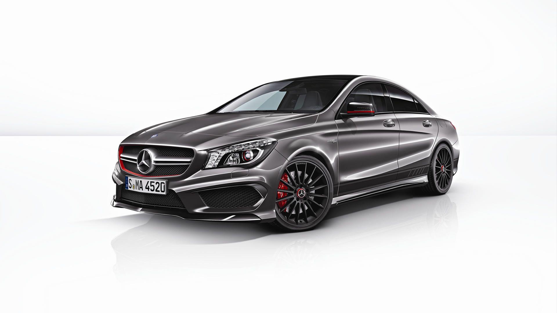 Mercedes cla45 amg edition 1