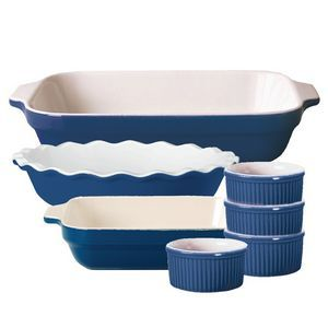 Baking Set 7pc, Azur