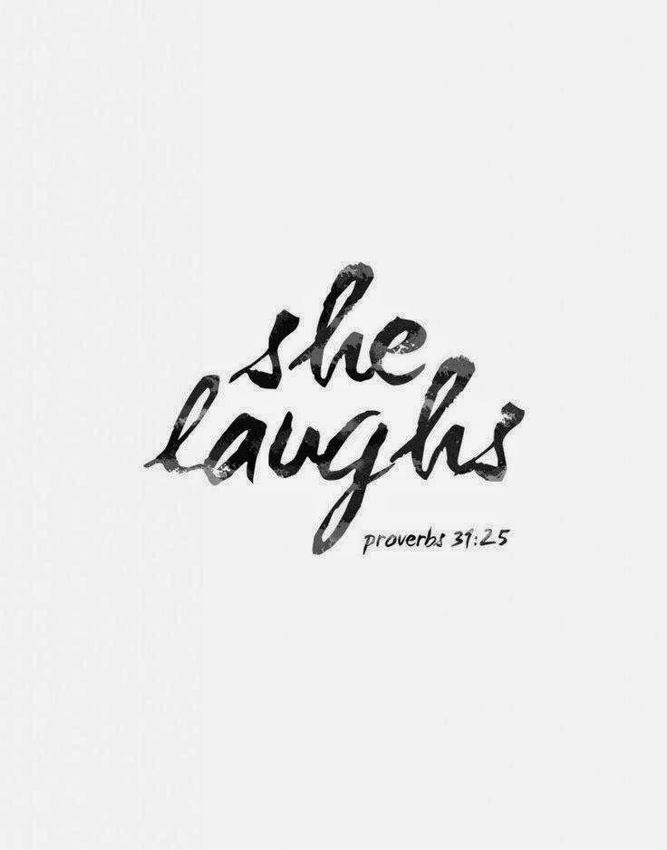Association Of Catholic Women Bloggers: She laughs