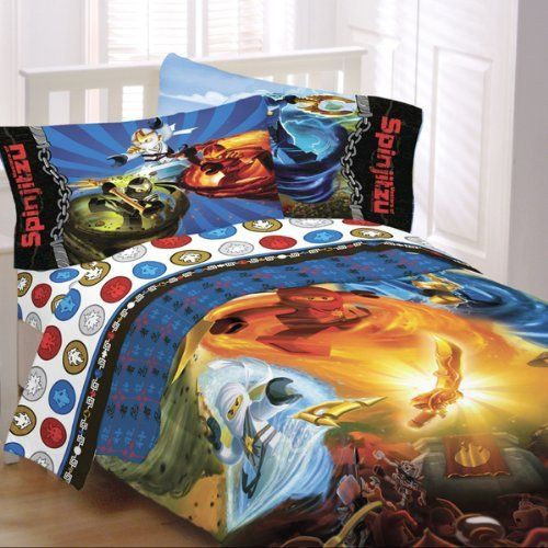 Lego Ninjago Twin Size Bed In A Bag With Sheet Set By Lego