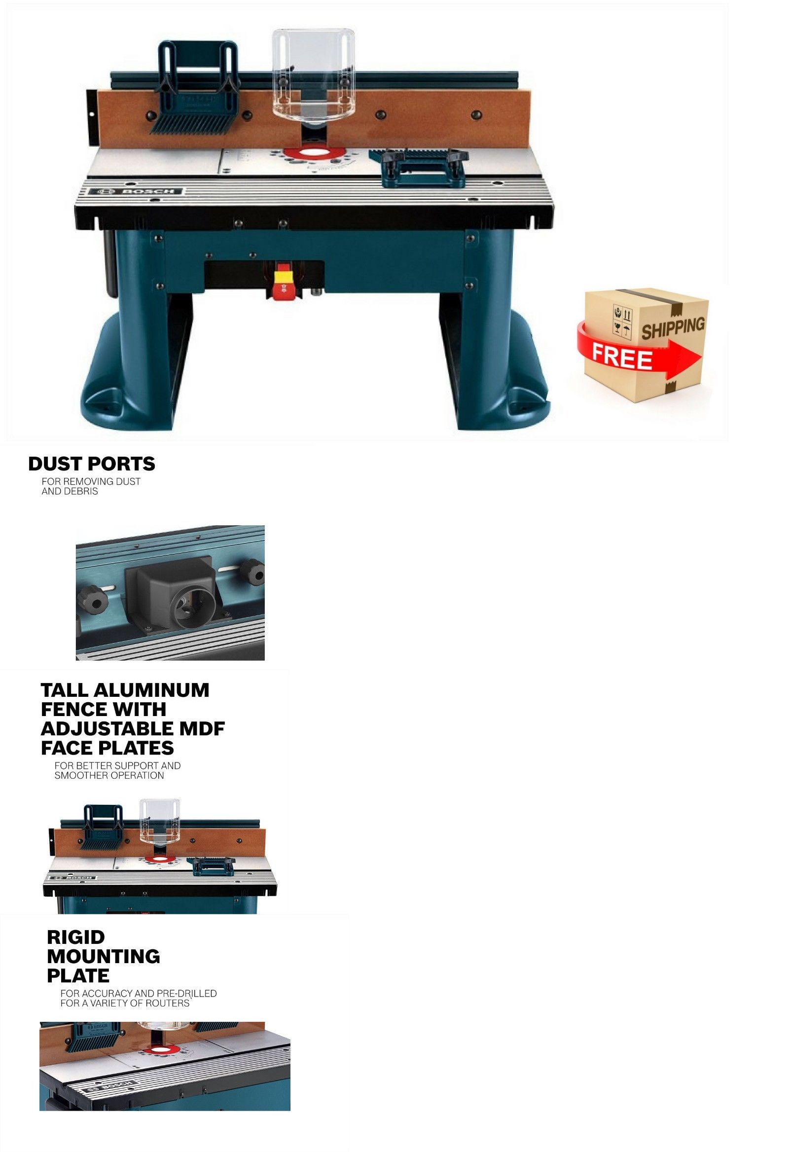 router tables 75680 router table benchtop bosch woodworking top rh pinterest com