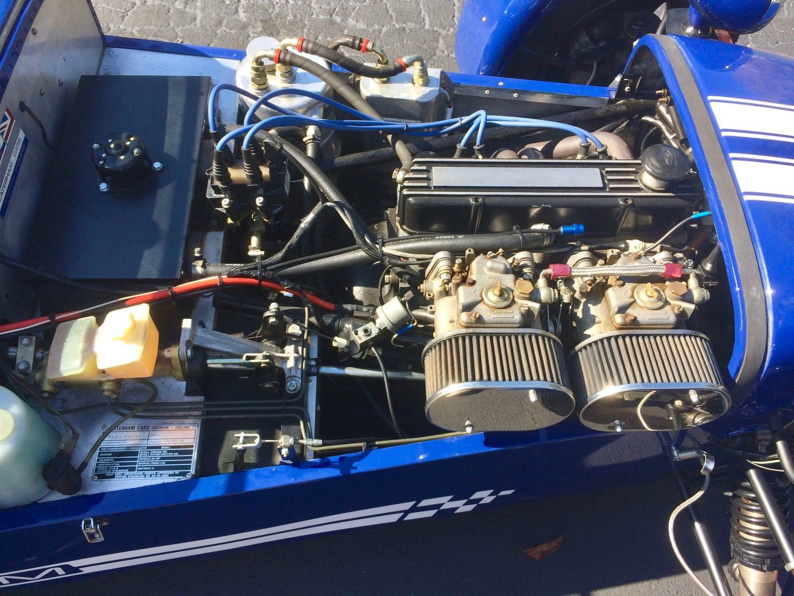 Ford Kent Crossflow Engine With Twin Webers Caterham Super 7 Caterham Dream Cars