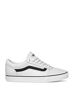 special for shoe best cheap autumn shoes VANS® Ward Stripe White Leather Sneakers | Products in 2019 ...