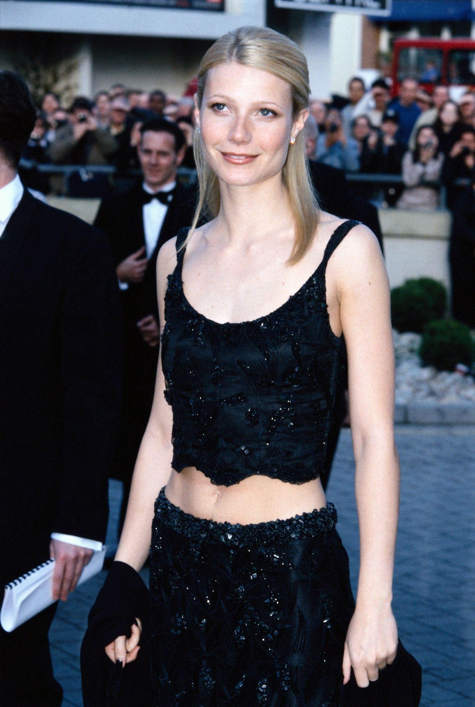 Gwyneth Paltrow at the BAFTA Awards in London, April 1999.