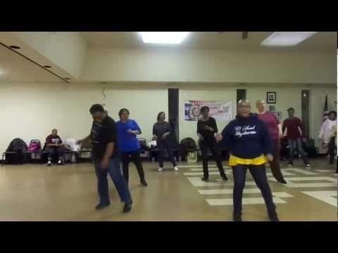 Love & Happiness Line Dance, Beginner slide