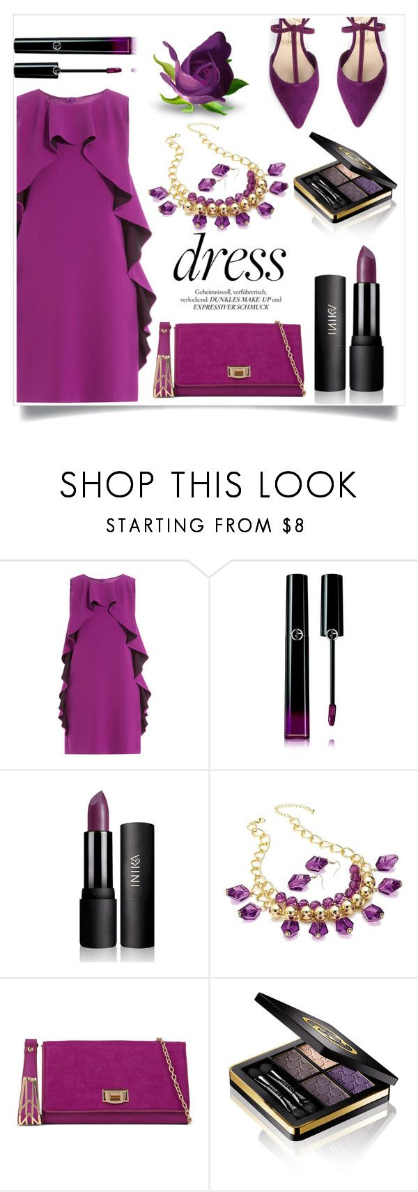 """Untitled #146"" by ellaa-h ❤ liked on Polyvore featuring Boutique Moschino, Giorgio Armani, ALDO and Gucci"