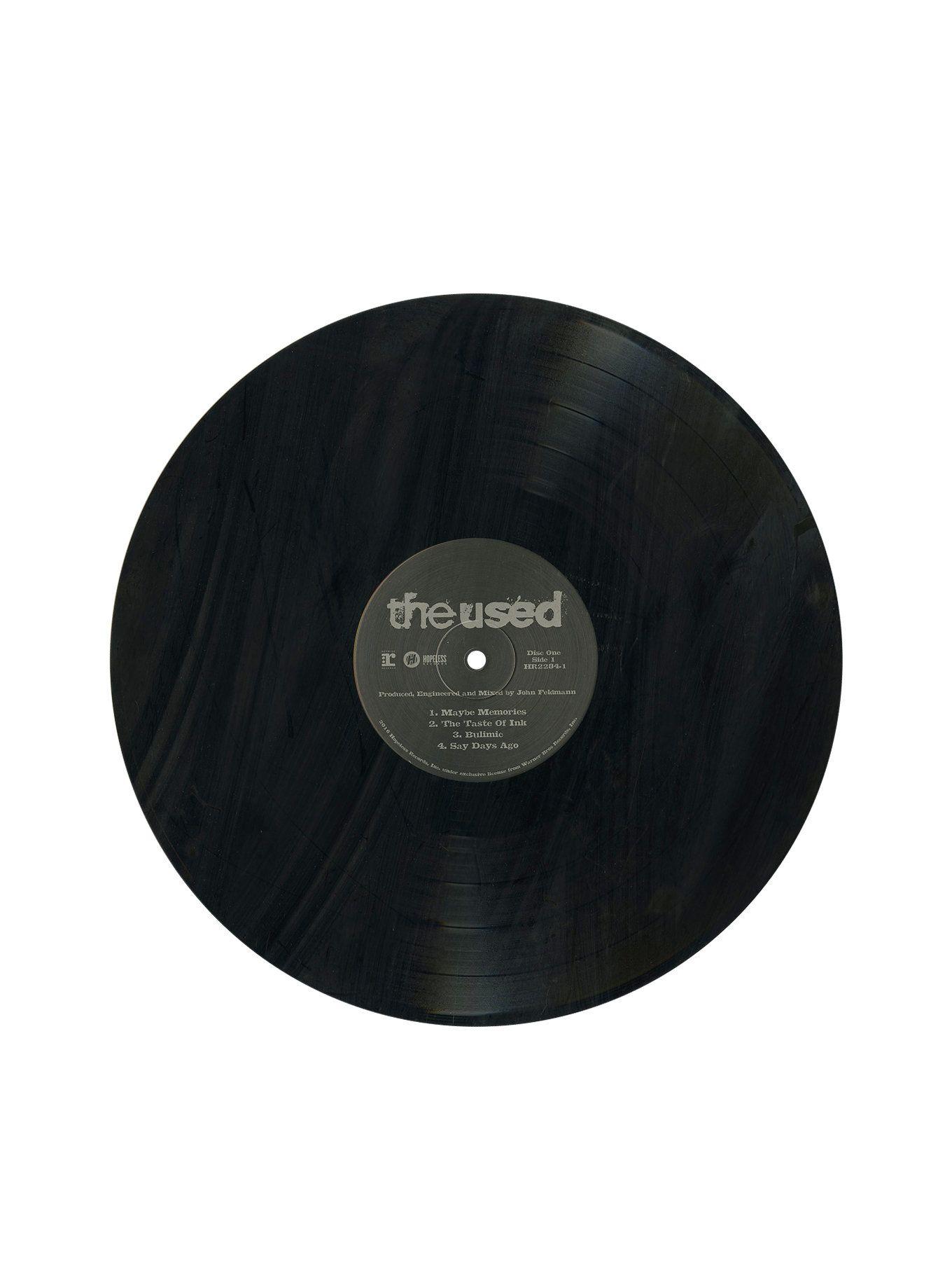 The Used Self Titled Vinyl Lp Vinyl Being Used Self