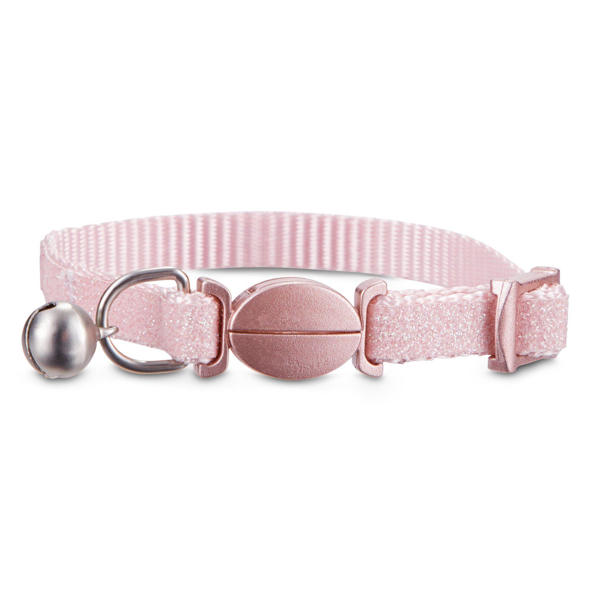 Bond Co Pink Sparkle Breakaway Kitten Collar Petco Kitten Collars Pink Sparkle Kitten