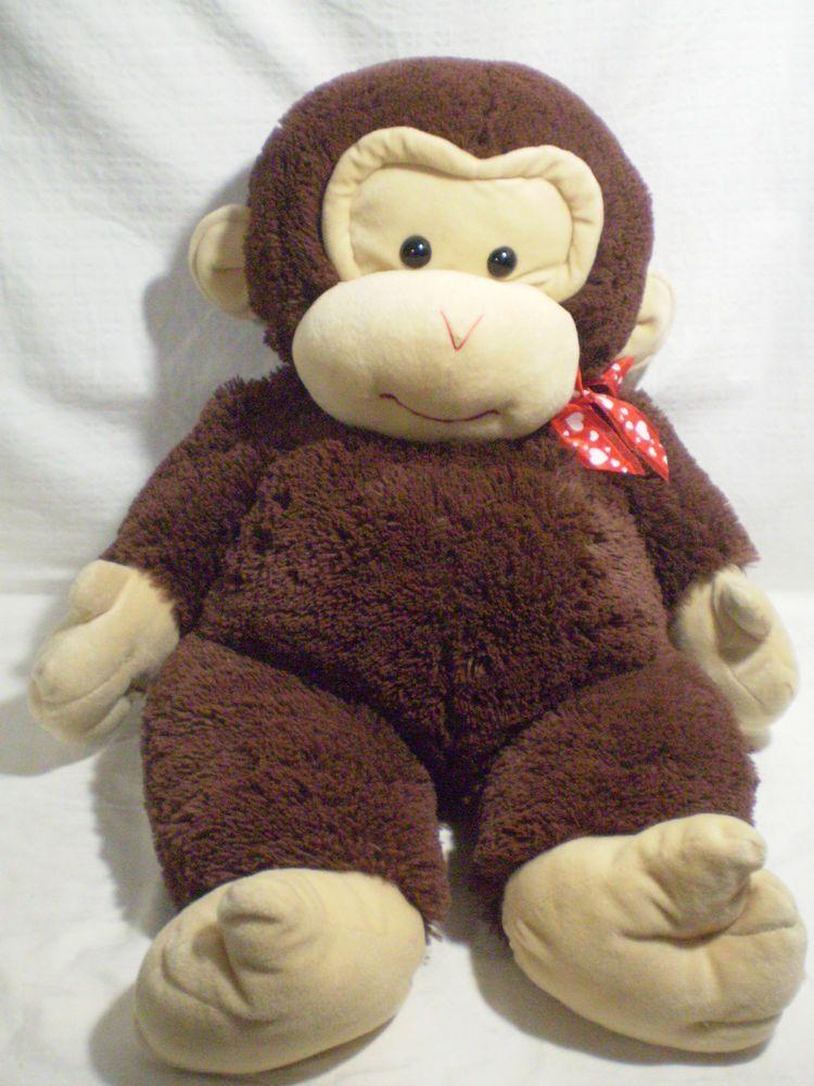 Goffa Jumbo 30 76cm Monkey Plush Baby Chimp Animal Toy Doll Red