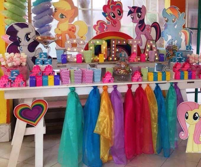 Mesa De Dulces My Little Pony Pony Candy Bar My Little