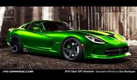 Bon 2014 Dodge Viper SRT Roadster