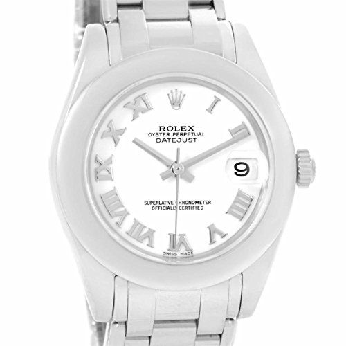 Women's Certified Pre-Owned Watches - Rolex Pearlmaster