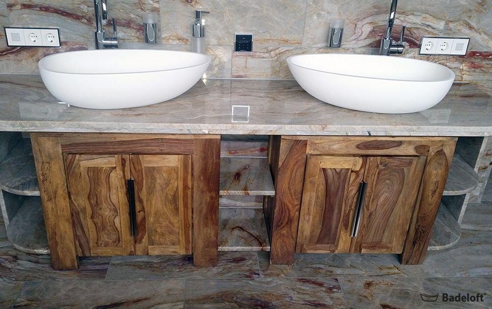 Der Trick Mit Holz Badezimmer Accessoires Feel Und Bounce Badeloft Waschbecken Mineralguss Inneneinr Badezimmer Accessoires Badezimmer Badezimmer Holz