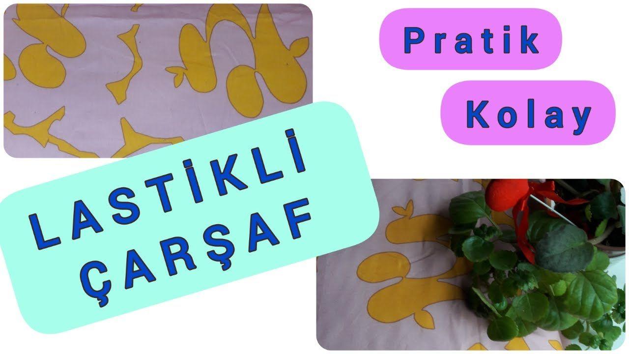 Lastikli Carsaf Nasil Dikilir Tek Kisilik Lastikli Carsaf Easy Sew Easy Sewing Novelty Sign Sewing