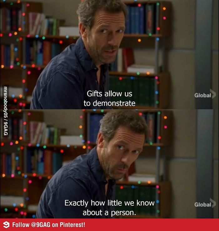 Gift Giving | House md, House and Gift