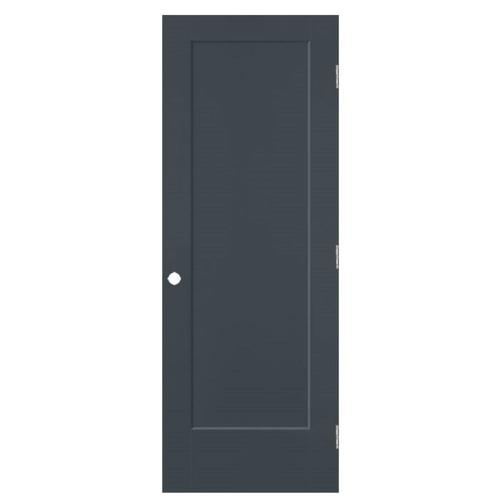 Masonite Lincoln Park Slate 1 Panel Square Solid Core Molded Composite Pre Hung Door Common 28 In X 80 In Actual 29 5 In X 81 5 In Lowes Com In 2020 Masonite Shaker Style Doors Hollow Core Doors