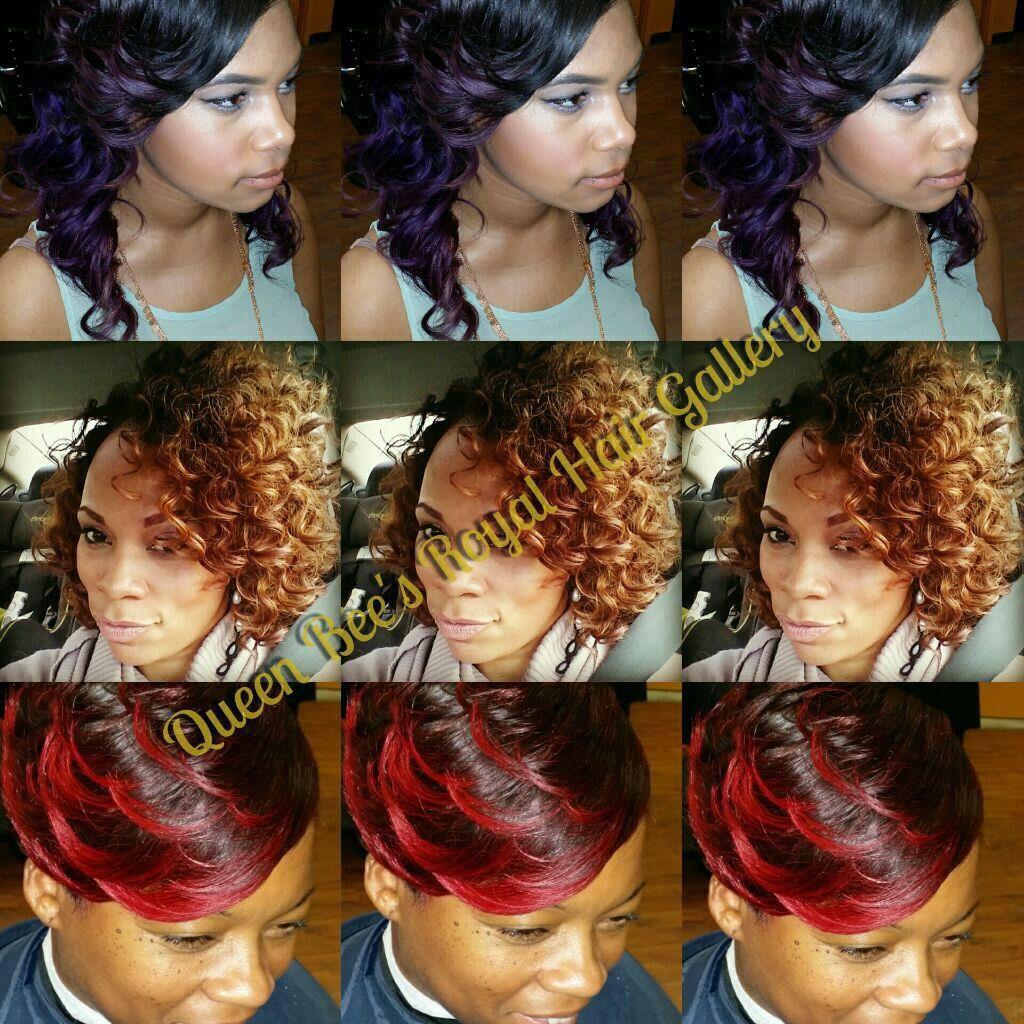 Queen Bee S Royal Hair Gallery 2409 N High St Columbus Ohio 43202 614 298 0037 Black Hair Stylist Black Hair Salons African American Hair Salons