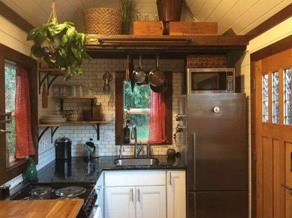 240 Sq Ft Tiny House In Seattle Tiny Kitchen Design Tiny