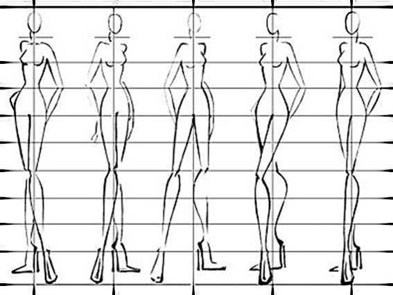 Préférence Dessin Silouhette, Croquis De Mode Couture, Stylisme Dessin Mode  XI35