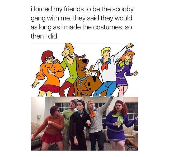 Squad goals | Funnies | Scooby doo memes, Scooby doo mystery