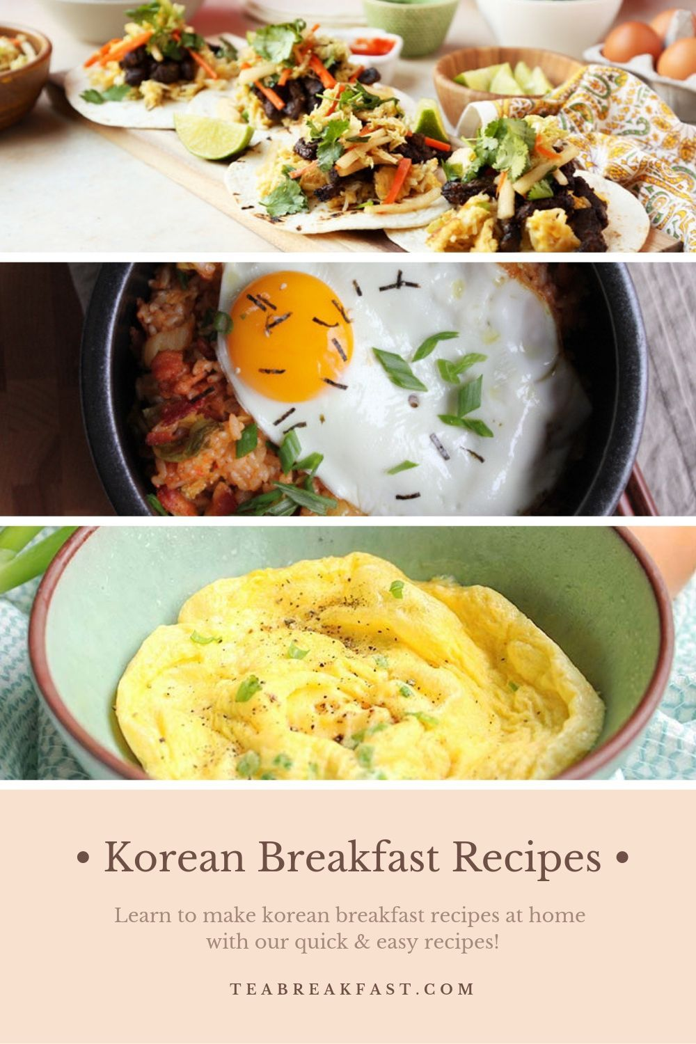 19 Korean Breakfast Recipes You Can Savor In The Morning Asian Breakfast Korean Breakfast Best Breakfast Recipes