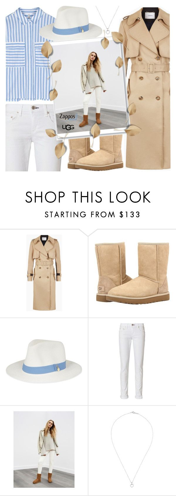 """""""The Icon Perfected: UGG Classic II Contest Entry"""" by anamarija00 ❤ liked on Polyvore featuring UGG, Melissa Odabash, rag & bone, Tiffany & Co., ugg and contestentry"""