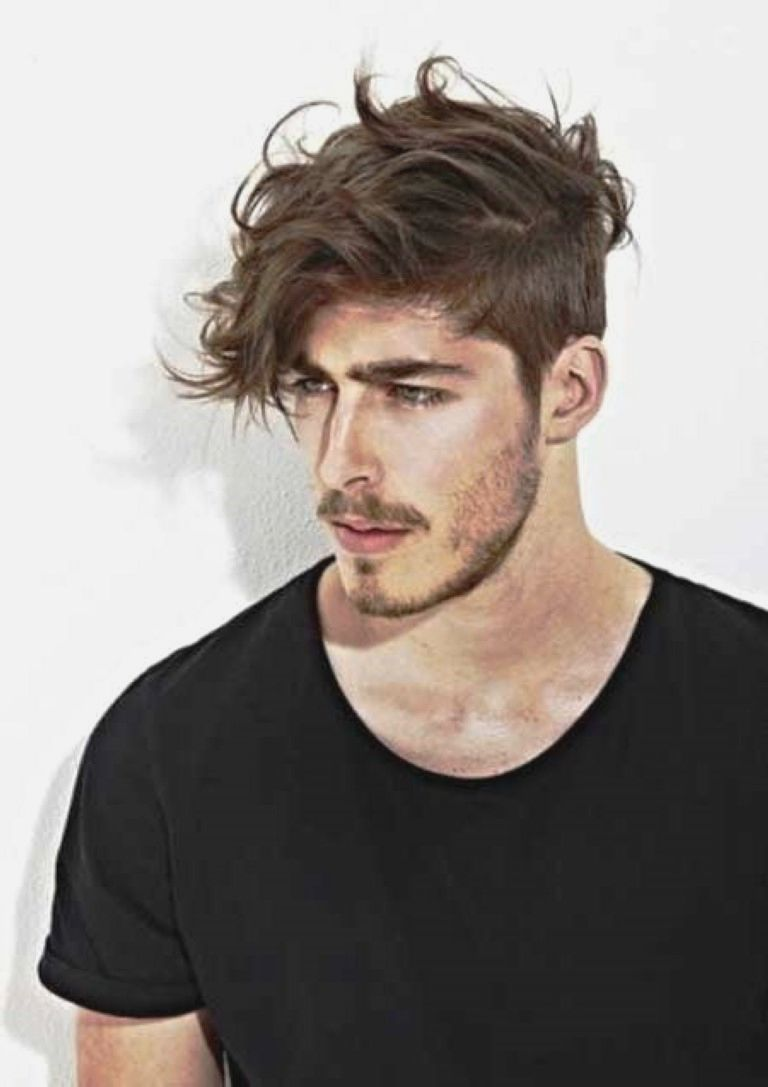 Men haircut wavy messy hairstyles for men mens haircuts
