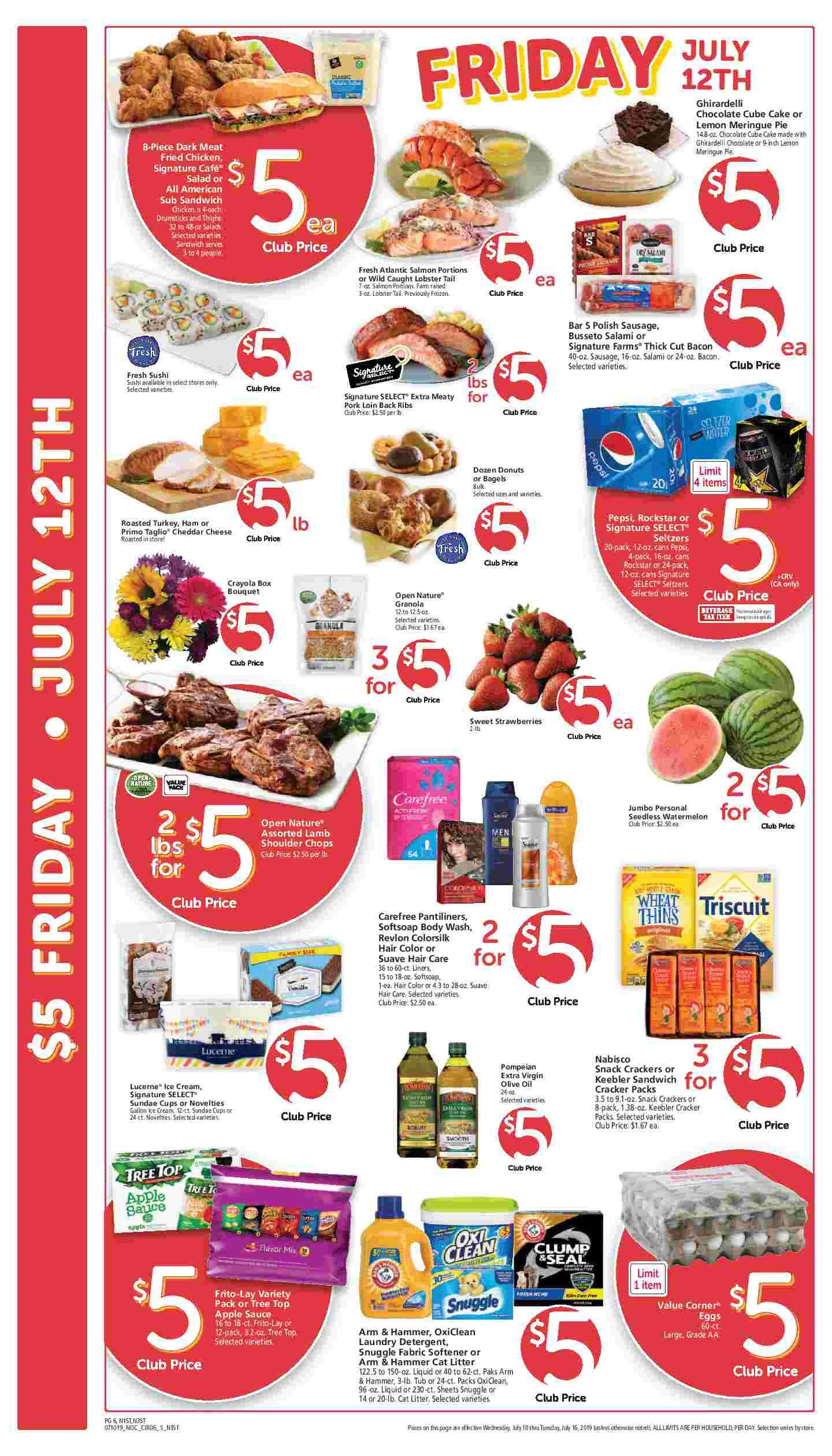 Safeway 5 Friday Ad Flyer June 4th 2021 Weekend Sale Weeklyad123 Com Weekly Ad Circular Grocery Stores Grocery Ads Grocery Savings Digital Coupons