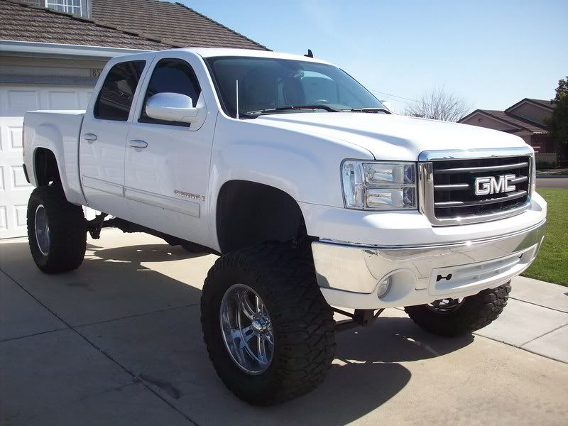 white gmc sierra lifted. gmc trucks white gmc sierra lifted