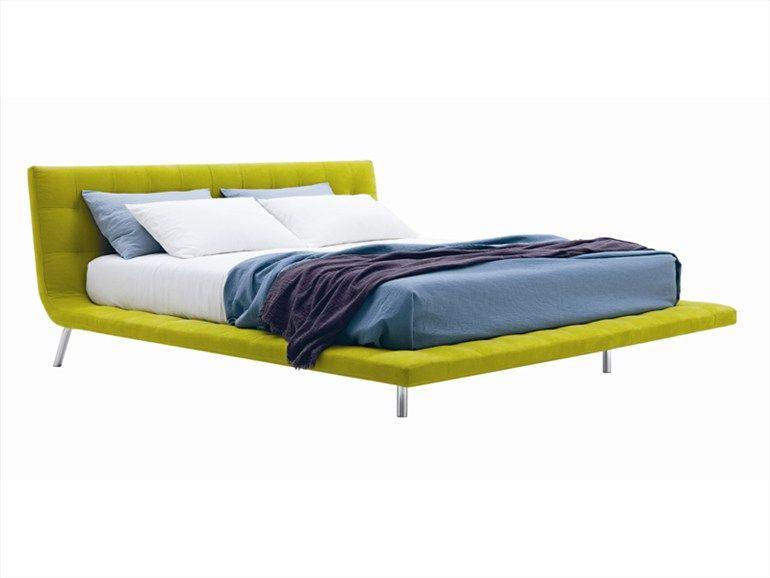 Cama doble con cabecera tapizada ONDA | Furniture | Pinterest ...
