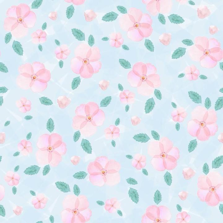 Floral pattern - watercolour