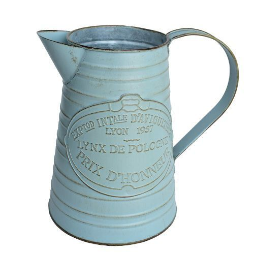65 Secret Santa Gifts that Your Coworker Actually Wants #secretsantaideasforwork Vintage Parisian metal jug vase (Secret Santa ideas for work)