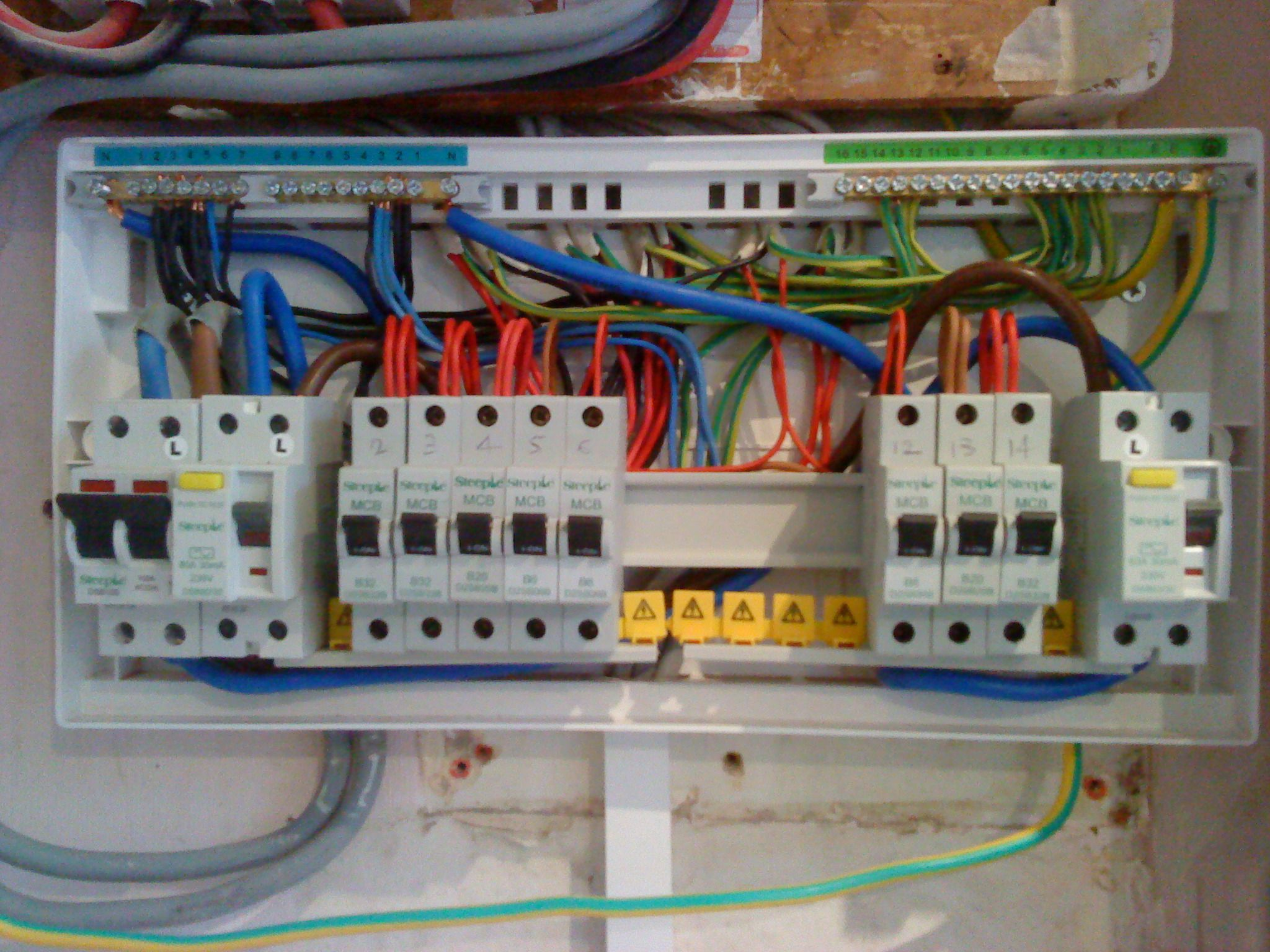 inside a household fuse box a revolutionary move to colour code the old fuse switch  old fuse box wiring diagrams