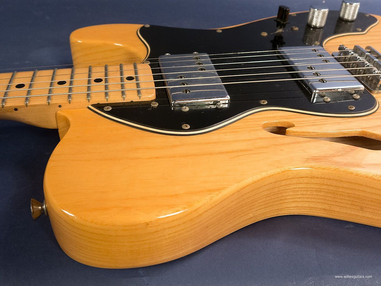 Natural, a fine semi-hollow body guitar. Did you know the Fender ...