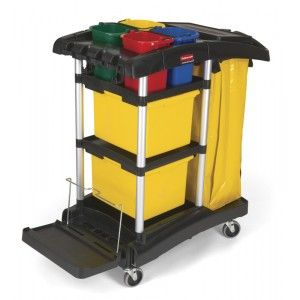 Cleaning Trolley Rubbermaid Cleaning Cart Housekeeping Hotel