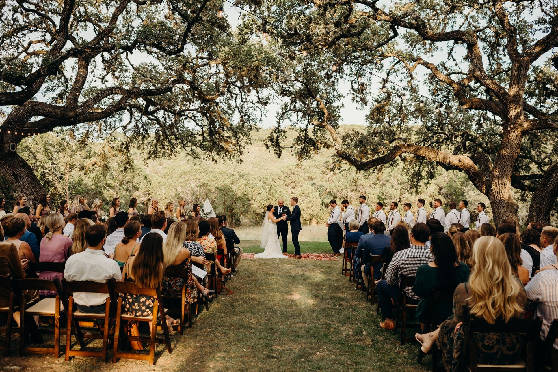 The Ivory Oak Weddings Hill Country Wedding… Here Comes