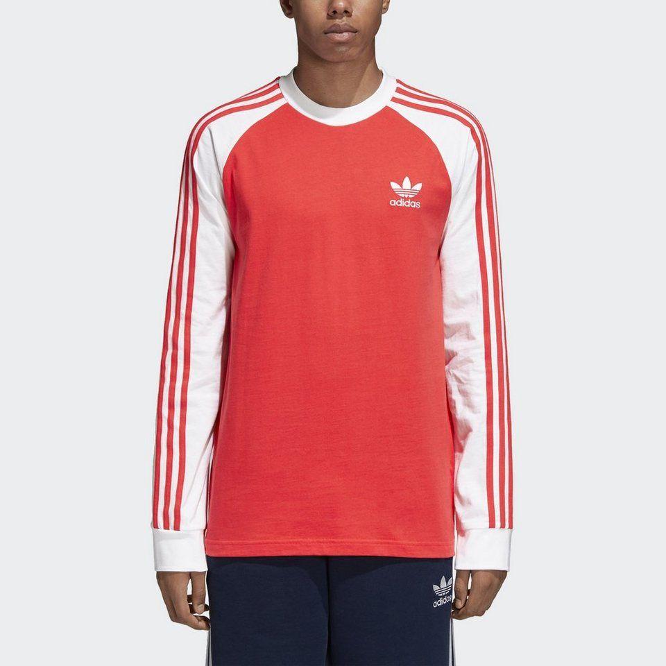 Adidas Originals Langarmshirt 3 Stripes Longsleeve Online Kaufen Otto Hemd Lange Armel Adidas Originals