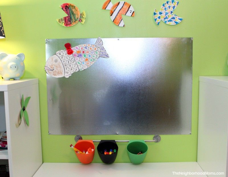 Diy Magnetic Art Wall Board Crafts Diy Pinterest Diy Diy