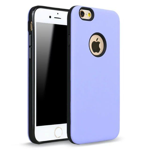 Shockproof Armor Hard Plastic Solid Color Cases For Iphone 5s 5 SE 6 6s Plus Rose Gold Phone Covers
