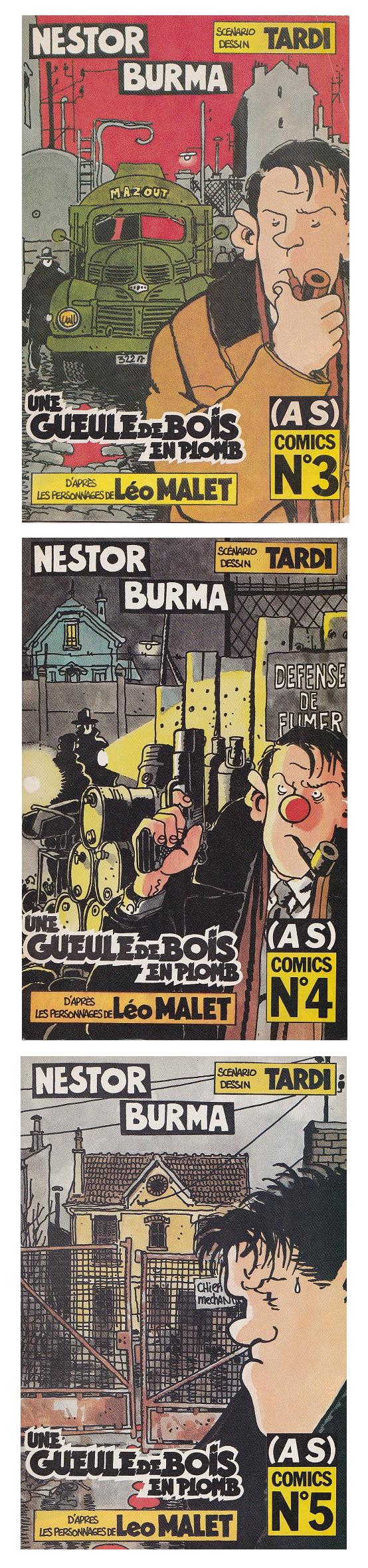 Une gueule de bois en plomb. Supplément du (A Suivre) n°137. Prépublication  en trois revues de type comics (AS)Comics. C'est la véritable édition  originale ...