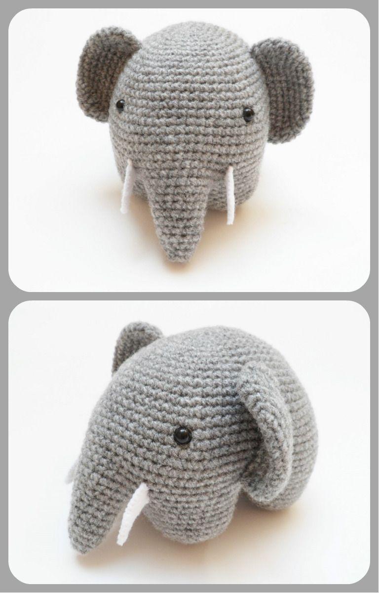 Contemporáneo Elefante Patrón De Ganchillo Festooning - Manta de ...