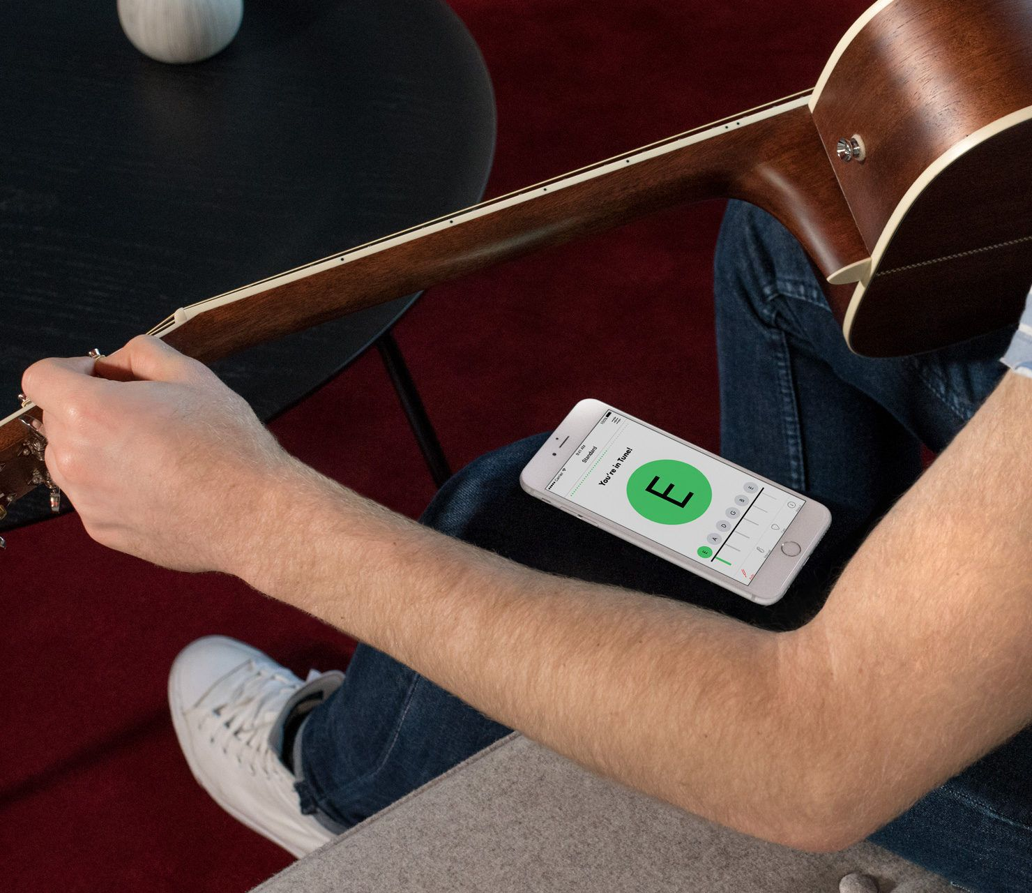 Guitar Tuner App Fender Tune for iPhone & Android