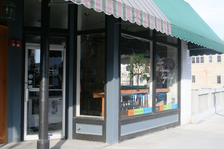River S Edge Cafe Aurora Il City Of Lights Outdoor Decor City Lights Home Decor