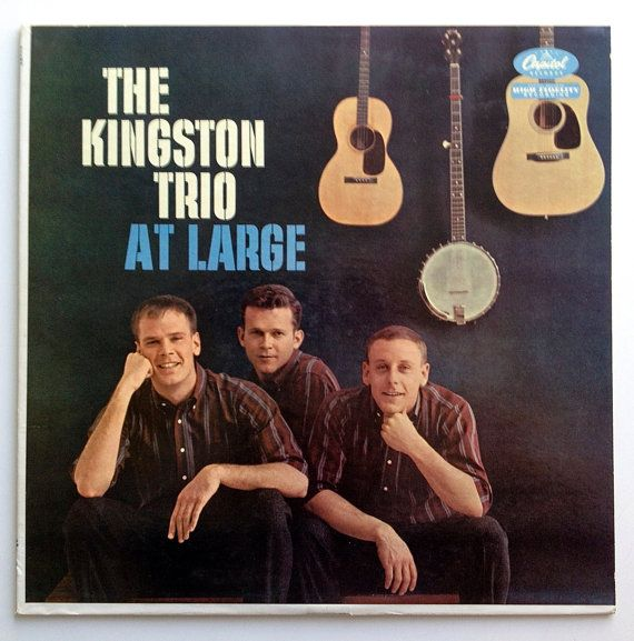 The Kingston Trio At Large Lp Vinyl Record Album