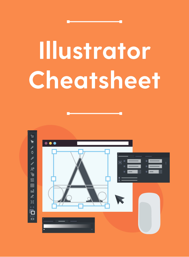 Free Illustrator Cheatsheet A PDF Guide to the Pen Tool