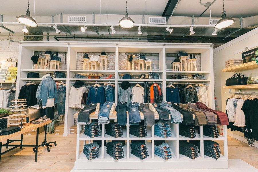 439ea6261d275 Madewell's First-Ever Brooklyn Store Opens in Williamsburg | Spaces ...