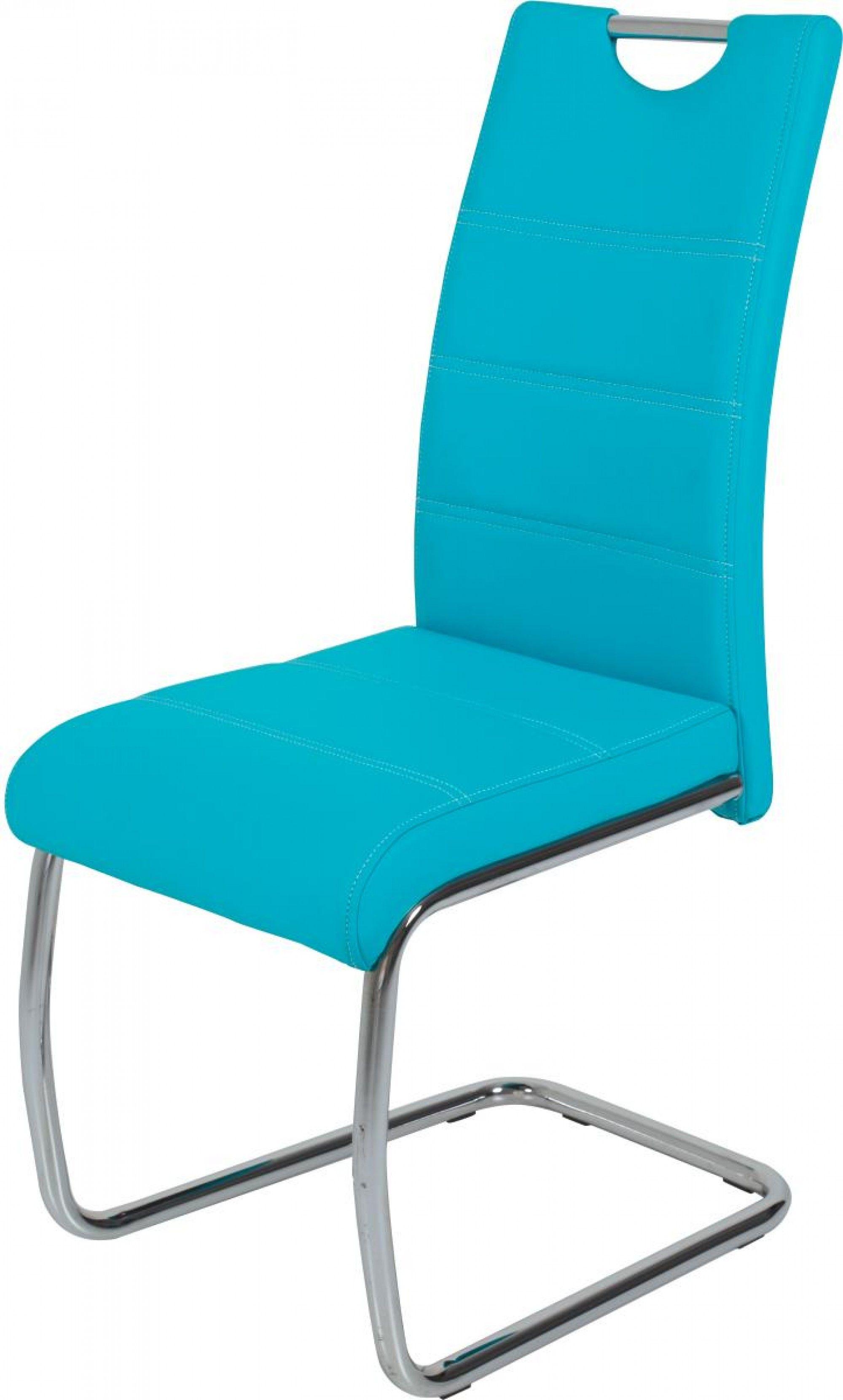 Schwingstuhl Flora Petrol Online Bei Poco Kaufen Freischwinger Stuhle Lederstuhle